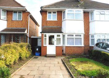 Thumbnail 3 bed property to rent in Gilbertstone Avenue, Sheldon, Birmingham