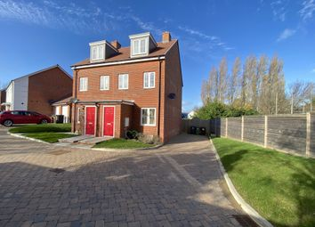 Thumbnail 3 bed semi-detached house for sale in Wood Sage Way, Pevensey, East Sussex