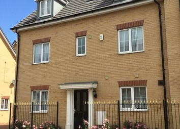 Thumbnail 5 bed town house for sale in Maskell Dr, Bedford, Bedfordshire