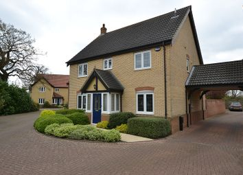 Thumbnail 4 bedroom detached house for sale in Rowan Drive, Dereham, Norfolk.