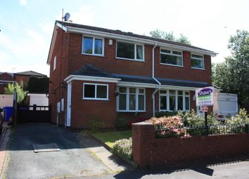 Thumbnail 3 bed semi-detached house for sale in Ryebrook Grove, Packmoor, Stoke-On-Trent