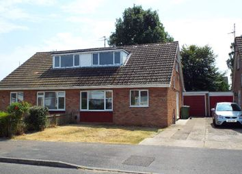 Thumbnail 3 bed semi-detached house for sale in Bradshaw Way, Irchester, Northamptonshire