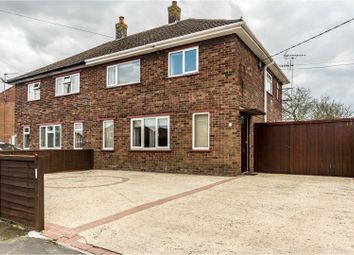 Thumbnail 3 bed semi-detached house for sale in Hall Hill Road, Holbeach