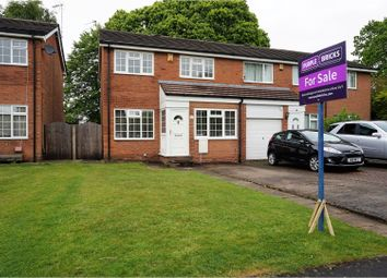Thumbnail 3 bed semi-detached house for sale in Delfur Road, Bramhall