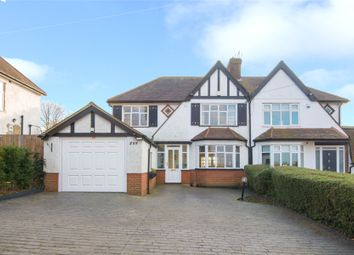 Thumbnail 4 bed semi-detached house for sale in Cuffley Hill, Goffs Oak, Waltham Cross, Hertfordshire