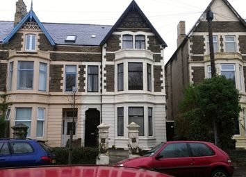 Thumbnail 4 bedroom flat to rent in Oakfield Street, Roath
