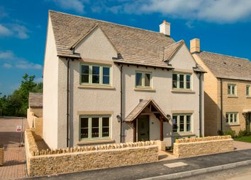 Thumbnail 4 bed detached house for sale in Plots 41 The Harrogate - Ferrers Park, Station Road, Lechlade