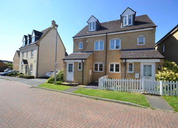 Thumbnail 3 bed semi-detached house for sale in Oberon Way, Oxley Park, Milton Keynes, Buckinghamshire
