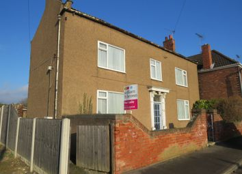 Thumbnail 4 bedroom detached house for sale in Low Cross Street, Crowle, Scunthorpe