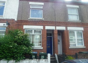 Thumbnail 4 bed terraced house to rent in Collingwood Road, Earlsdon, Coventry