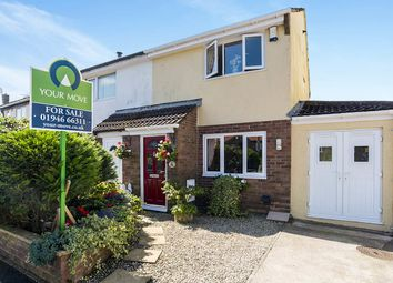 Thumbnail 2 bed semi-detached house for sale in Murton Park, Arlecdon, Frizington