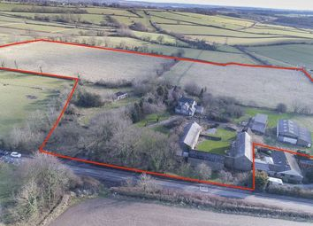 Thumbnail 4 bed farmhouse for sale in Pilsley Road, Lower Pilsley, Chesterfield