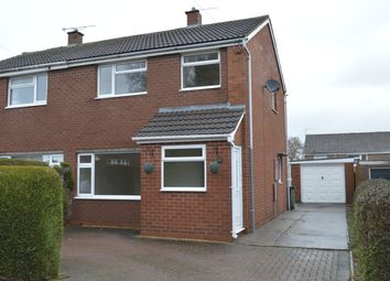 Thumbnail 3 bed semi-detached house to rent in Burnell Close, Bayston Hill, Shrewsbury