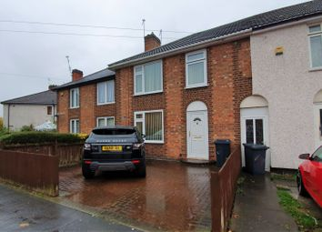 Thumbnail 3 bed terraced house for sale in Folville Rise, Leicester