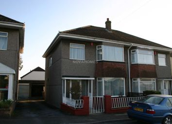 Thumbnail 3 bedroom semi-detached house to rent in Crownhill Road, Crownhill