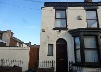Thumbnail 2 bedroom end terrace house to rent in Bradfield Street, Liverpool
