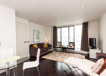 Thumbnail 1 bed flat to rent in Pan Peninsula Square, London