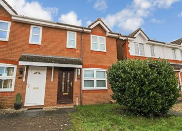 Thumbnail 2 bed end terrace house to rent in Hawfinch Close, Covingham, Swindon