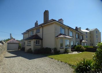 Thumbnail 5 bed semi-detached house for sale in West Parade, Criccieth, Gwynedd