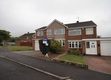 Thumbnail 5 bed semi-detached house for sale in Southdean Drive, Hemlington, Middlesbrough