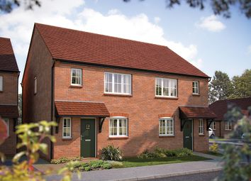 "Thumbnail 3 bedroom semi-detached house for sale in ""The Southwold"" at Gable Mews, Salford Road, Bidford-On-Avon, Alcester"