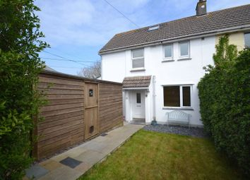 Thumbnail 3 bedroom semi-detached house for sale in Carbis Bay, St Ives, Cornwall