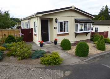 Thumbnail 2 bed mobile/park home for sale in Cliff Park, Ludlow, Shropshire