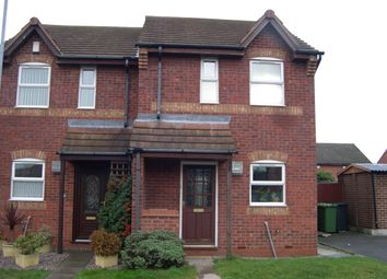 Thumbnail 2 bed semi-detached house to rent in Caister, Tamworth