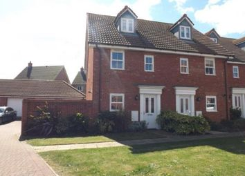 Thumbnail 3 bedroom end terrace house for sale in Wymondham, Norfolk