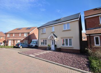 Thumbnail 4 bed detached house for sale in Orsted Drive, Drayton, Portsmouth
