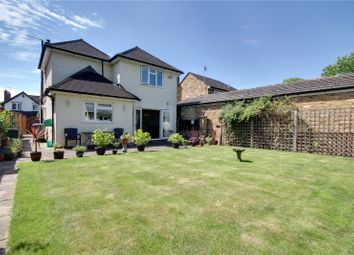 Thumbnail 3 bed detached house for sale in Grove Road, Chertsey, Surrey