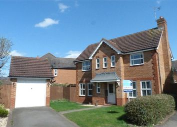Thumbnail 3 bed detached house for sale in Azalea Close, Lutterworth