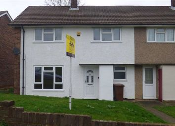Thumbnail 3 bed semi-detached house to rent in Bligh Way, Strood, Rochester