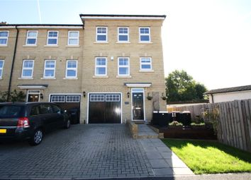 Thumbnail 4 bed end terrace house for sale in Foxglove Close, Chertsey, Surrey