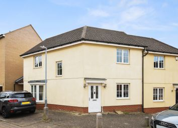 Thumbnail 3 bed semi-detached house for sale in Agnes Silverside Close, Colchester, Essex
