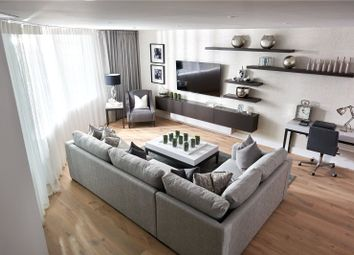 Thumbnail 1 bed flat to rent in Lombard Wharf, Battersea, London