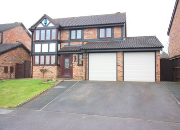 Thumbnail 4 bed detached house for sale in Woodmere, Luton
