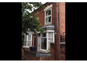 Thumbnail 3 bed end terrace house to rent in Leicester, Leicester