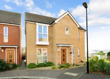 Thumbnail 3 bed detached house for sale in Royal Architects Road, East Cowes, Isle Of Wight