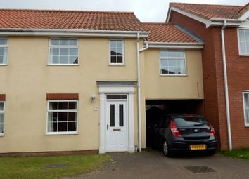 Thumbnail 3 bed link-detached house to rent in Pollywiggle Close, Norwich