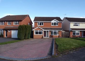 Thumbnail 4 bedroom detached house for sale in Newport Close, Walkwood, Redditch, Worcestershire