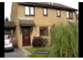 Thumbnail 2 bedroom semi-detached house to rent in Valens Close, Crownhill, Milton Keynes