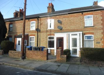Thumbnail 2 bedroom terraced house for sale in Eustace Road, Ipswich