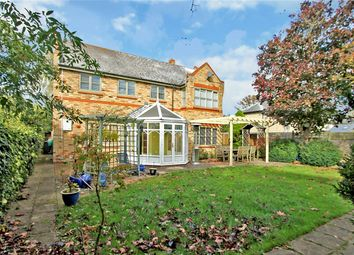 Thumbnail 4 bed detached house for sale in Cambridge Road, Wimpole, Royston
