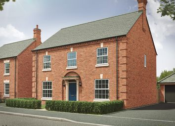"""Thumbnail 4 bed detached house for sale in """"The Castleton Georgian"""" at Southwell Close, Melton Mowbray"""