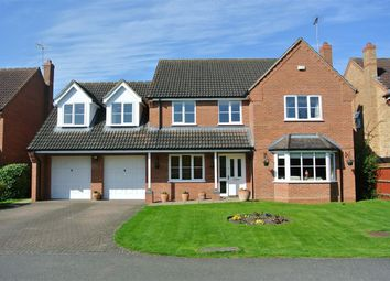 Thumbnail 5 bed detached house for sale in Measures Close, Morton, Bourne, Lincolnshire