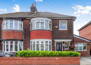 Thumbnail 3 bedroom semi-detached house for sale in Curzon Road, Stockport
