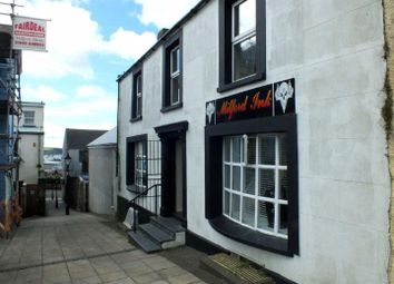 Thumbnail Retail premises for sale in Charles Street, Milford Haven