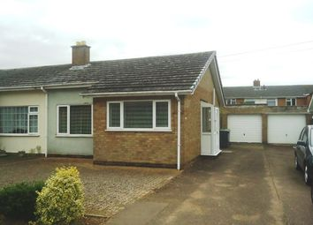 Thumbnail 2 bed semi-detached bungalow for sale in 46 Willow Road, Potton, Sandy, Bedfordshire