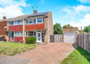 Thumbnail 3 bed semi-detached house for sale in White House Close, Hoo, Rochester